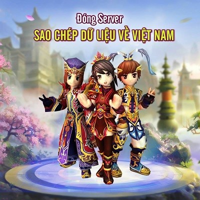 Những Hiệp Khách ở server Singapore của Dzogame.com hiện đang được hỗ trợ sao chép dữ  liệu để đưa về server Việt Nam