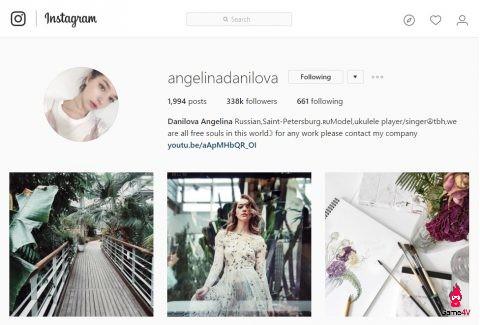 Hiện tại, sau 8 tháng thì số người theo dõi của Angelina trên Instagram đã tăng gấp 6 lần, từ khoảng 50k follower lên hơn 330k followers