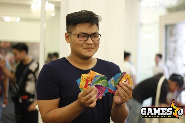 Quy tụ sáu gian hàng tượng trưng cho chín sản phẩm khác nhau, Funtap đã phát ra một số lượng phần quà khổng lồ dành cho những vị khách tham dự các mini-game