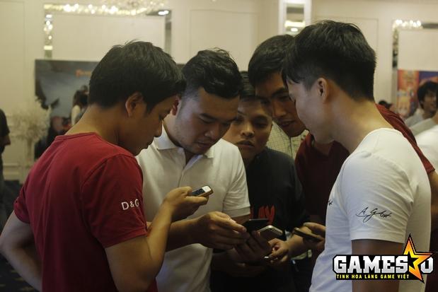 """""""Funtap vận hành những tựa game bình thường để đưa nó thành 'bom tấn'"""", ông Nguyễn Trọng Mạnh, Giám đốc vận hành sản phẩm của Funtap, phát biểu tại sự kiện"""