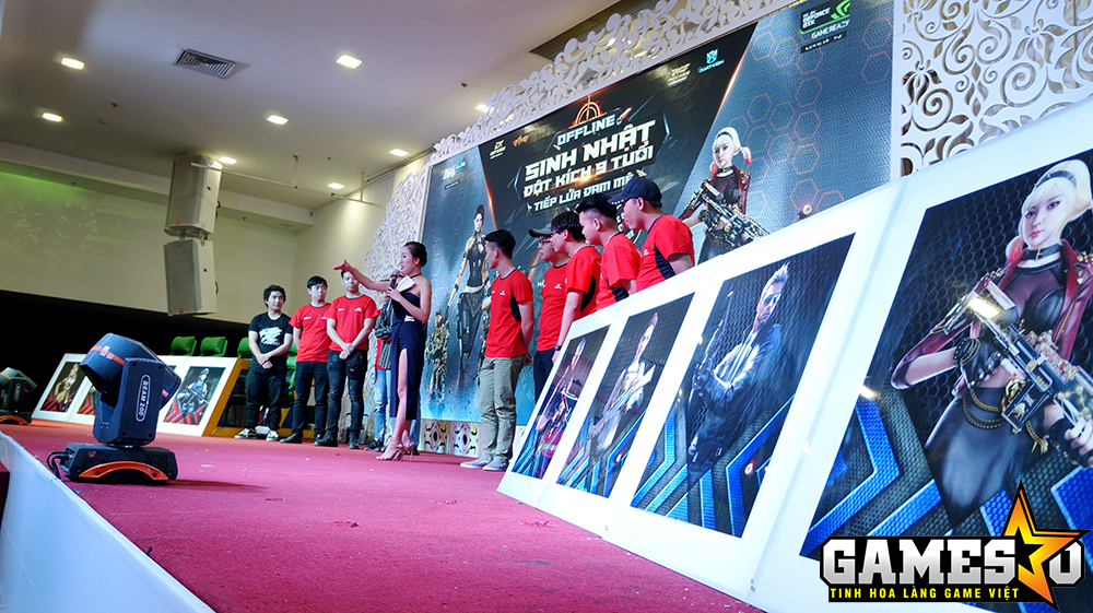 Rất nhiều phần quà là những GiftCode được BTC trao tặng cho những vị khách tới tham dự chương trình khi tham dự mini-game hay bốc thăm trúng thưởng