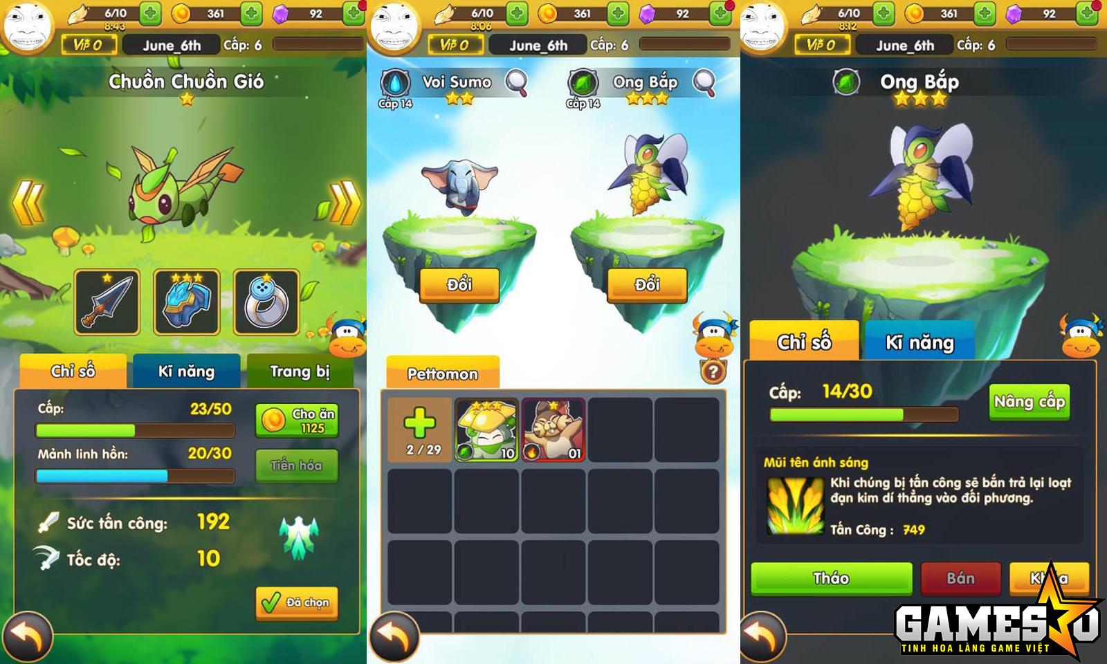 Lối chơi của Phi Đội Mobile xoay quanh việc nâng cấp và điều khiển một Okimon cùng hai Pettomon vượt qua các chướng ngại vật trong mỗi màn chơi