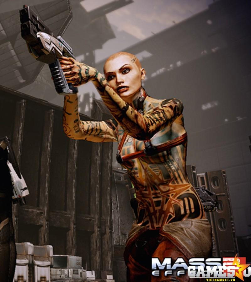 Jack của Mass Effect 2