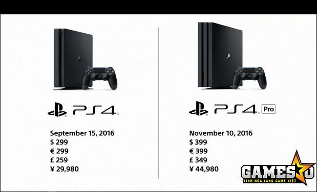 So sánh nhanh về giá của hai đời máy PS4