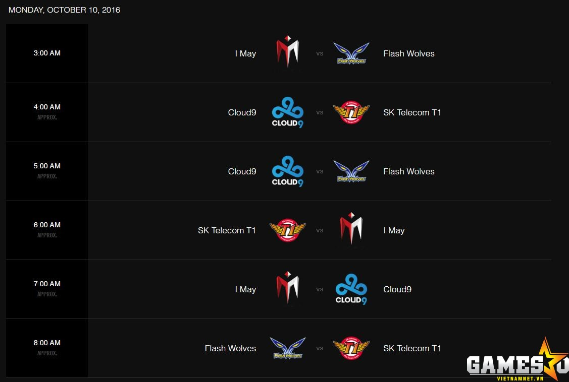 Lịch thi đấu lượt về Bảng B CKTG 2016