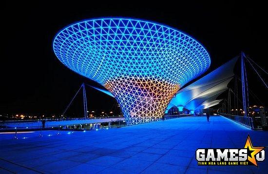 World Expo Park Thượng Hải - nơi diễn ra trận showmatch giữa P1 vs iG