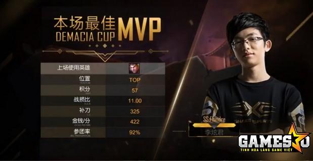 Flandre giành MVP ở Ván 2