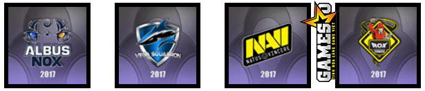 LCL: Albus NoX Luna, Vega Squadron,  Natus Vincere, RoX