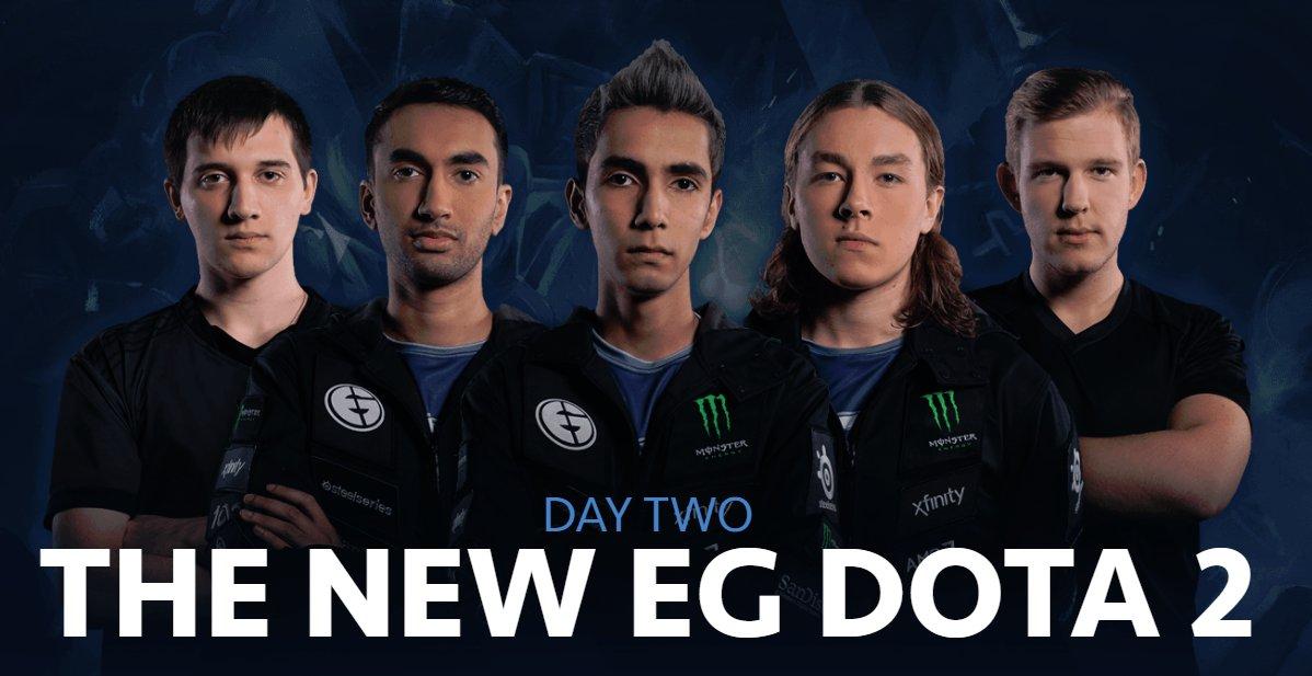 Đội hình mới của EG tính cho đến thời điểm hiện tại.