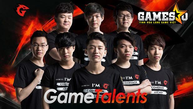Đội hình chính thức của Game Talents tham dự LPL Mùa Xuân 2017