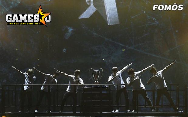 ROX ăn mừng chức vô địch LCK Mùa Hè 2016