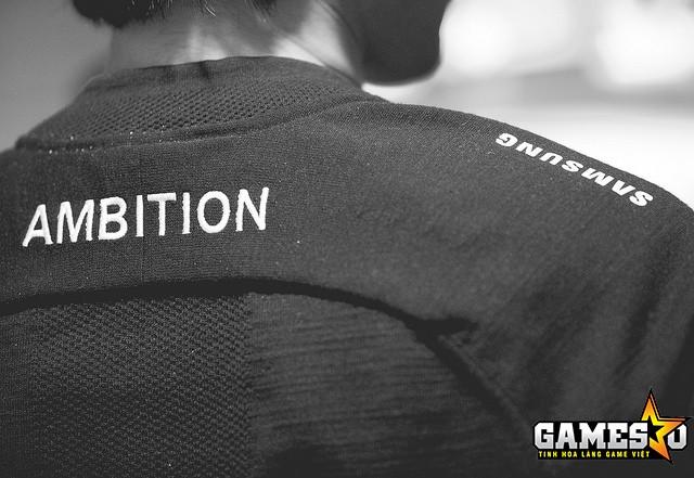 Ambition chắc chắn không muốn thua ở một trong những trận đấu quan trọng cuối cùng của sự nghiệp