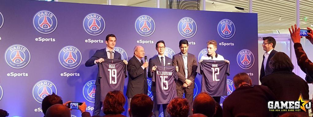 """PSG đang cho thấy tham vọng tiến sâu vào lĩnh vực eSports khi tuyển toàn """"hàng khủng"""""""