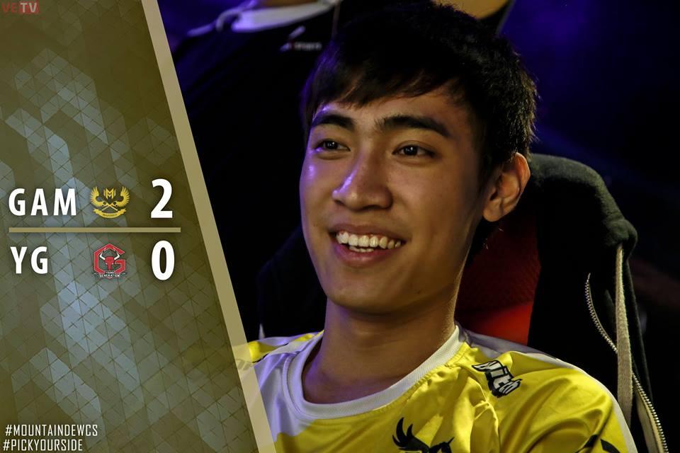 Levi tiếp tục là ngôi sao sáng nhất trong đội hình của GAM trong chiến thắng trước YG