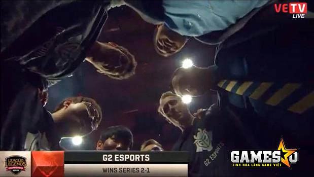 Bản lĩnh của G2 đã được thể hiện đúng lúc giúp họ có được thắng lợi trước Fnatic