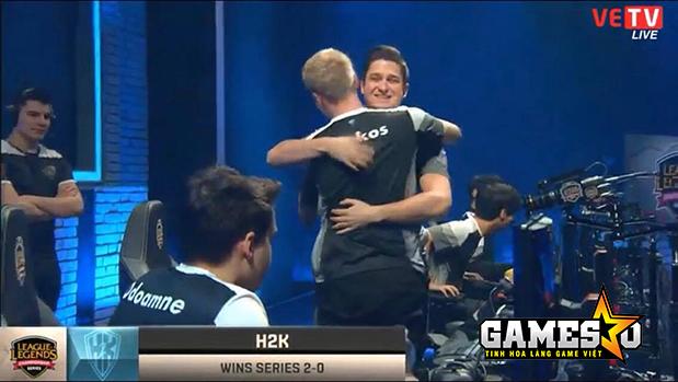 Febiven đã có được chiến thắng trong màu áo H2K khi anh quay trở lại từ Fnatic
