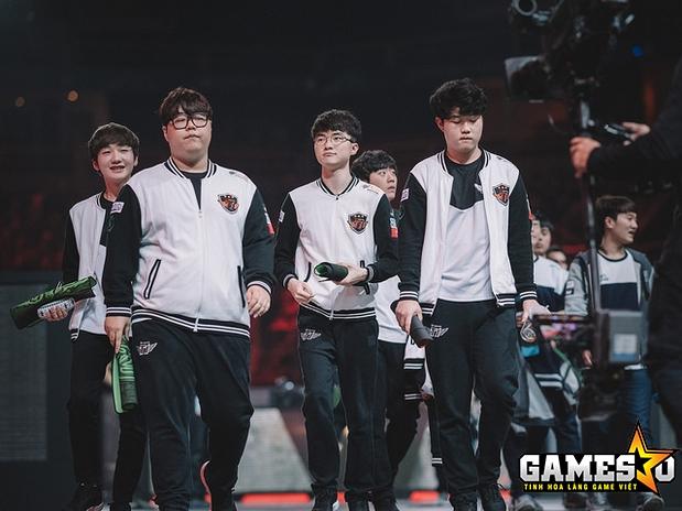 SKT vẫn tỏ ra vượt trội so với năm đội tuyển còn lại tại vòng bảng MSI 2017