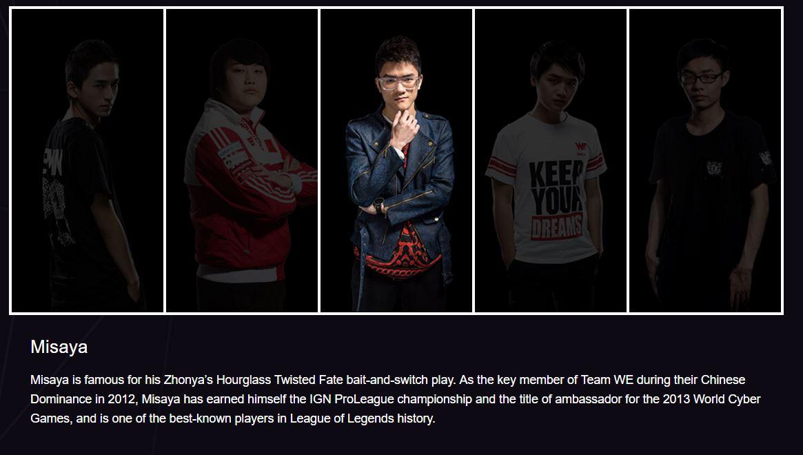 Đội hình huyền thoại của Team WE tái hợp tại Return of the Legends