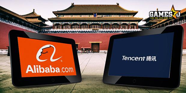 Hiện Tencent đang vượt mặt Alibaba sau năm tài khóa 2016