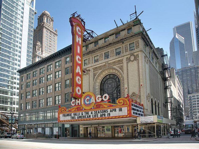 Nhà hát Chicago, Chicago, Illinois: nơi tổ chức vòng Tứ kết (13/10 – 16/10).