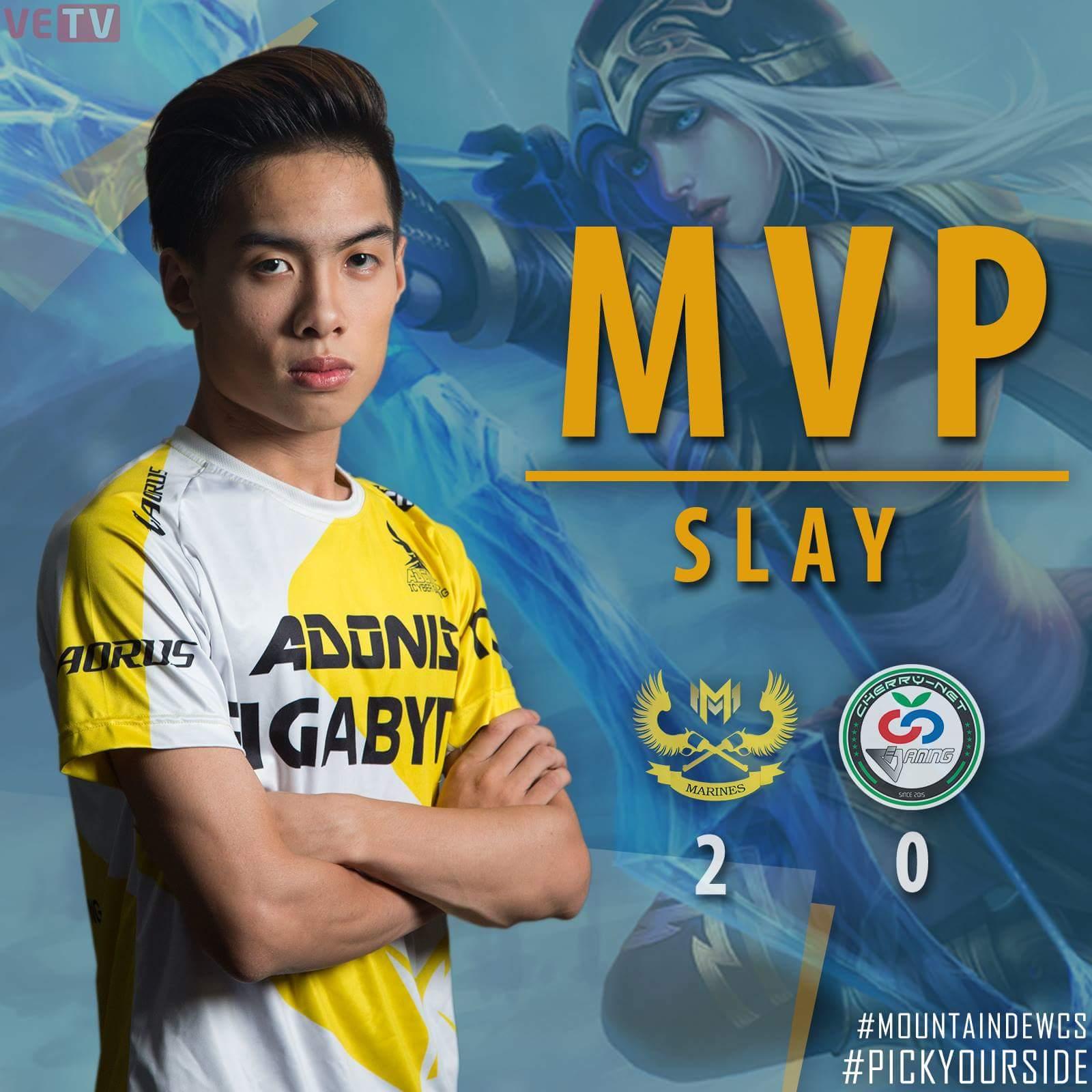Slay lần đầu tiên giành MVP tại MDCS Mùa Xuân 2017