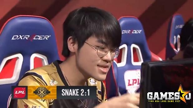 Zz1tai đang ngày càng chứng tỏ vai trò gánh đội của anh trong đội hình Snake thay vì SofM hay Flandre