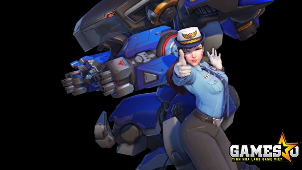 Skin Officer D.Va