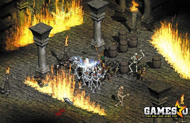 Ảnh chụp màn hình Diablo II