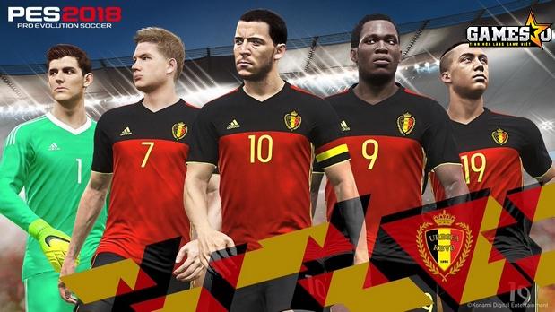 ĐTQG Bỉ với những gương mặt nổi bật là thủ môn Courtois, tiền vệ Kevin De Bruyne, Đội trưởng Hazard, tiền đạo Lukaku và tài năng trẻ Tielemans