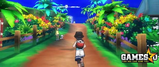 Một phân cảnh trong Pokémon Ultra Sun và Pokémon Ultra Moon