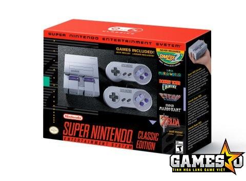 Phiên bản SNES Mini dành riêng cho thị trường Bắc Mỹ