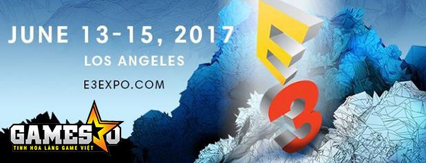 E3 2017 sẽ diễn ra từ 13-15/6 tại Los Angeles, Mỹ