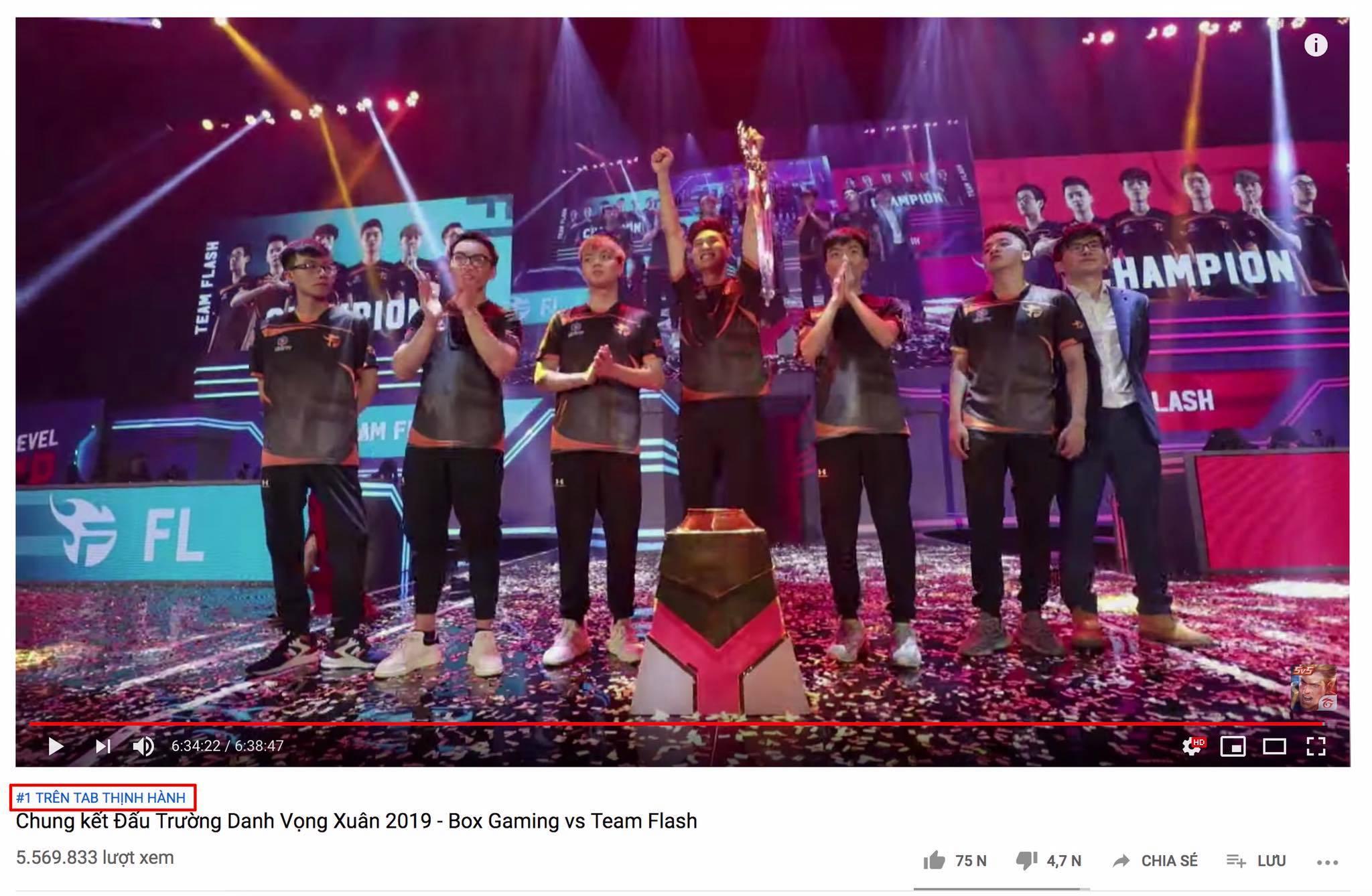 Trận Chung kết Đấu Trường Danh Vọng mùa Xuân 2019 đã tạo ra sức hút khủng khiếp trên mạng xã hội Việt Nam