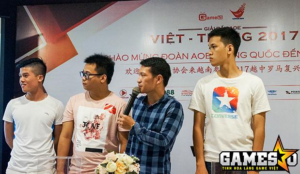 Đoàn AoE Việt Nam sẽ giải quyết tất cả những cặp đấu thuộc về nội bộ ở nước nhà rồi mới sang Trung Quốc thi đấu
