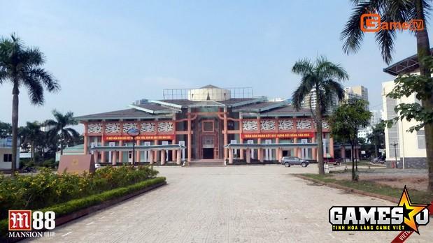 Nhà thi đấu quận Thanh Xuân, Hà Nội - địa điểm tổ chức các trận đấu quyết định tại AoE Việt Trung 2017