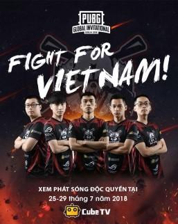Xem livestream Refund Gaming thi đấu tại chung kết PUBG thế giới tại Cube TV: http://cubetv.sg/cubeesports