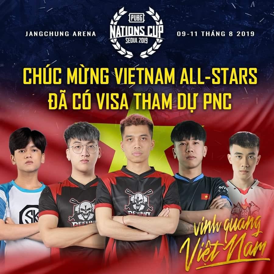 Đội hình chính thức của Việt Nam All Stars