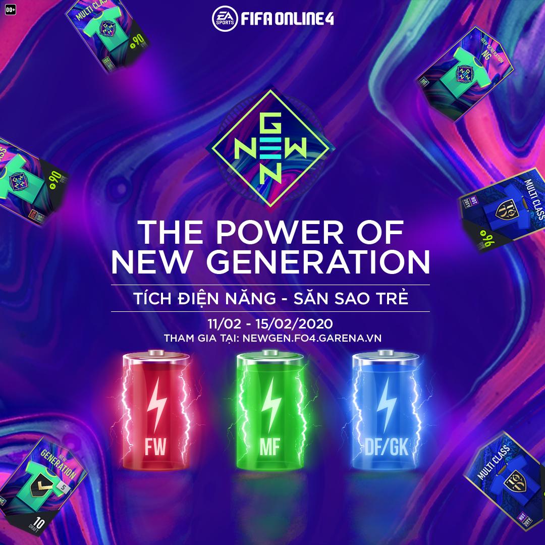 Sự kiện miễn phí The Power of New Generation với hàng loạt quà tang85 cực chất