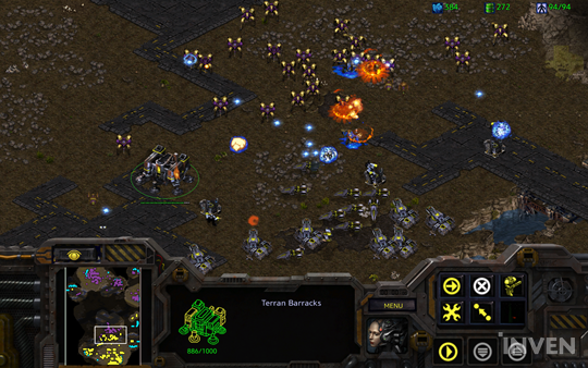 Chế độ Khán Giả/ Trọng Tài theo dõi trận đấu trong StarCraft Remastered