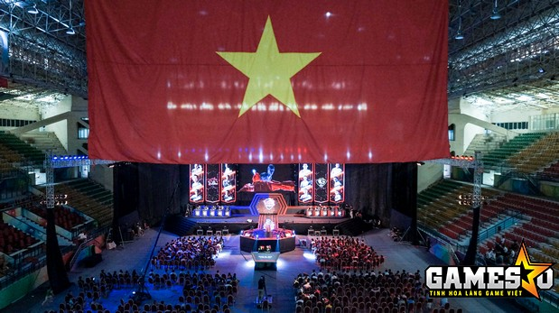 Khung cảnh sân khấu Chung kết VPL Mùa Xuân 2017