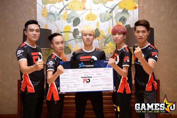 Năm 2017, FreedomGaming (tiền thân của EvaTeam hiện tại) đã xuất sắc vượt qua Boss.CFVN tại trận Chung kết CFS Quốc gia 2016 để giành vé tới Trung Quốc tham dự CFS Grand Finals 2016