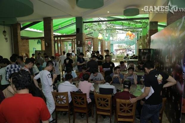 Địa điểm làm giải đấu 3Q 360mobi luôn là những quán cà phê lớn