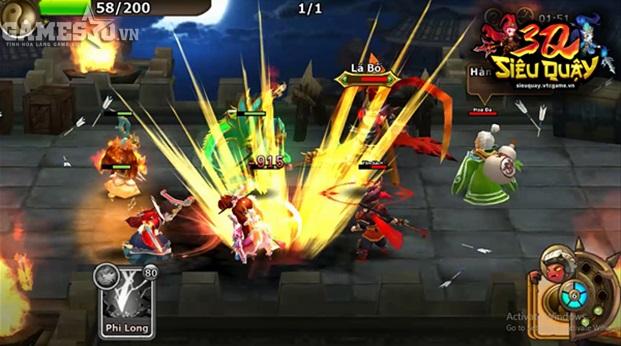 3Q Siêu Quậy khai thác gameplay đấu bài ma thuật Yugi-Oh