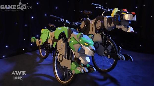 Bái phục với nhóm game thủ chế tạo xe đạp thành hình của Dũng Sĩ Hesman - ảnh 3