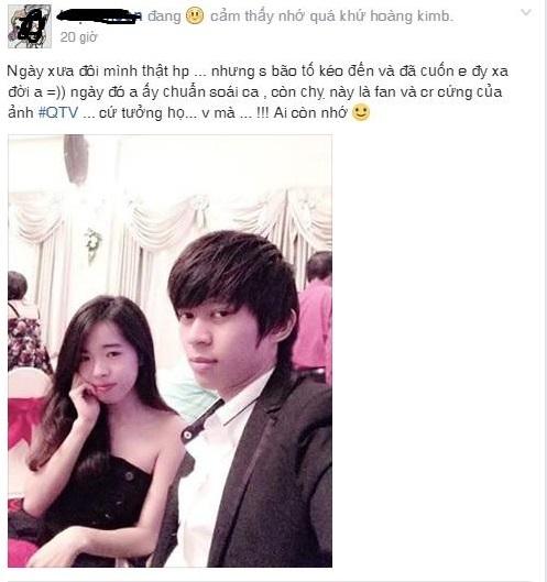 Bạn gái của SofM hiện tại từng là tình cũ của QTV? - ảnh 2