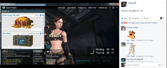 Bít Tết - Cô nàng admin xinh đẹp khiến cộng đồng game thủ xao xuyến - ảnh 2