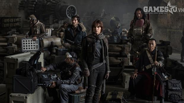 Rogue One: A Star Wars Story sẽ khép lại một năm đại thắng lợi cho Disney khi ra rạp vào tháng 12 tới. Ảnh: Disney.