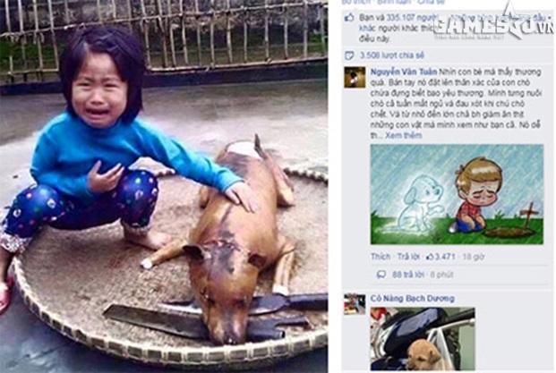 Bức ảnh được chia sẻ với tốc độ chóng mặt cùng nhiều câu chuyện cảm động về tình bạn giữa người và chó