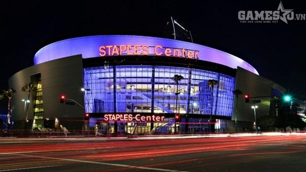 STAPLES Center nơi diễn ra trận chung kết - Nguồn: Internet