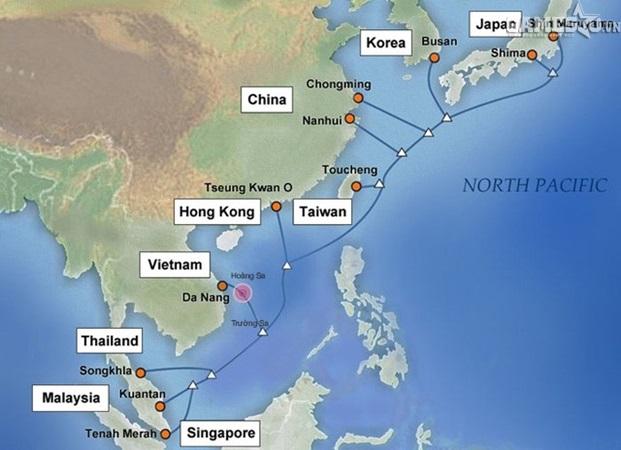 Cáp quang APG và AAG chưa khắc phục được thì tuyến Liên Á lại đứt trước Tết Nguyên Đán - ảnh 1